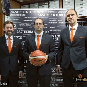 S. Lorenzo vesteix al Lleida Bàsquet