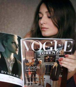 Sastrería Lorenzo a la revista VOGUE