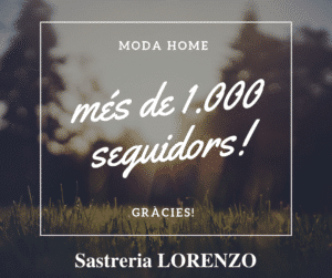 SASTRERIA LORENZO más de 1.000 seguidores