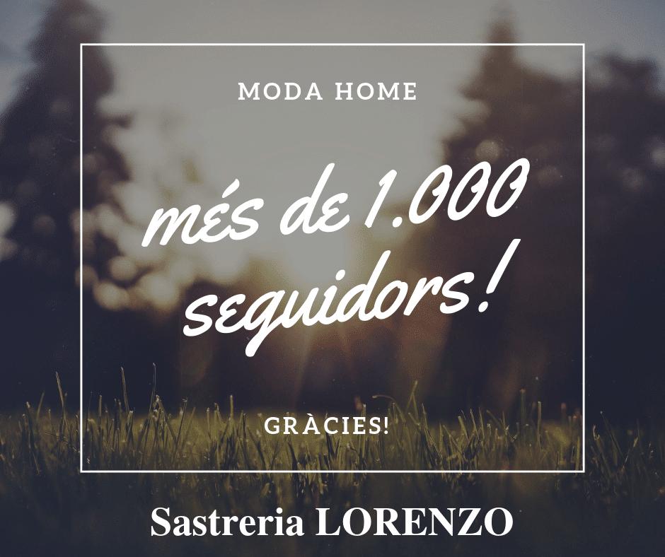 SASTRERIA LORENZO més de 1.000 seguidors