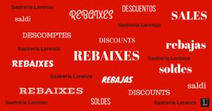 REBAIXES! 2019 A SASTRERIA LORENZO